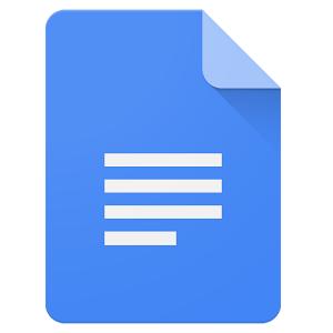 Google Docs APK Logo 300x300